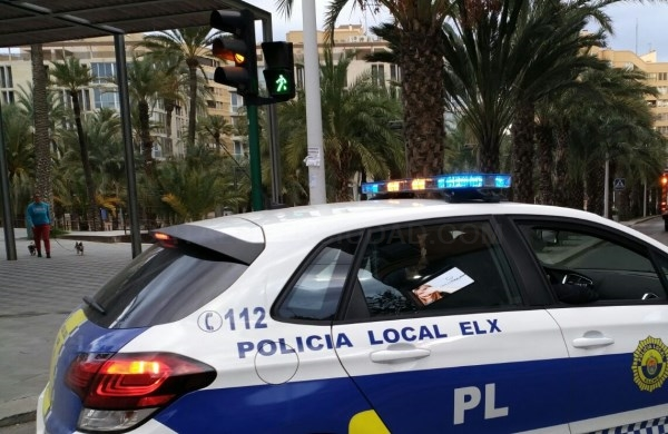 Detenido presunto autor de sustracción siendo localizado con colaboración ciudadana