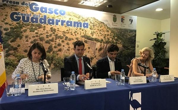 Torrelodones, Galapagar y Las Rozas firman un convenio para la protección de la Presa de El Gasco y del Canal del Guadarrama