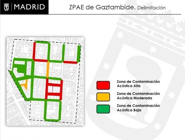 La comisión de Medio Ambiente y Movilidad aprueba la declaración de Gaztambide como Zona de Protección Especial Acústica