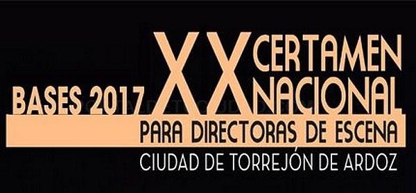 Bases para participar en la XX edición del Certamen Nacional de Teatro para Directoras de Escena Ciudad de Torrejón de Ardoz