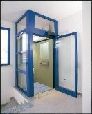ascensores exteriores, Treppensteigen Maschine, ascensores con extructuras metalicas, eleva