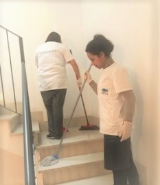 limpieza de oficinas mallorca,escaleras