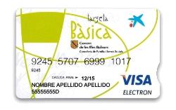 Un total de 8.170 personas obtendrán la Tarjeta Básica en las Illes Balears en 2015