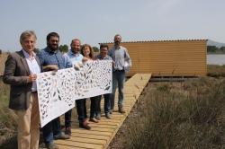 Presentan infraestructuras que fomentan la conservación de la avifauna de las Islas