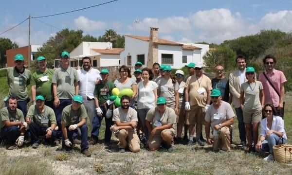 Se recogen 23.000 kilos de residuos de diferentes espacios litorales de relevancia ambiental de todas las Islas