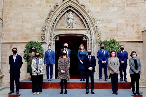 Mercedes Garrido, Josep Marí y Miquel Company toman posesión como nuevos consejeros del Govern de les Illes Balears