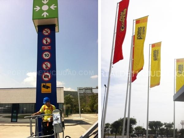 banderas banderolas publicitarias,