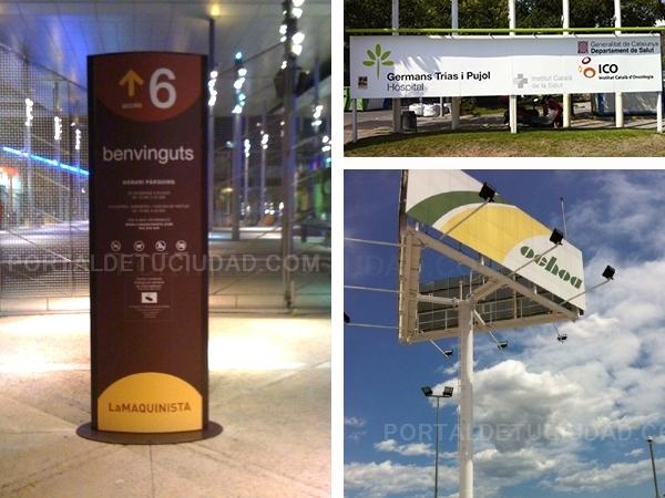 soportes publicitarios vallas publicidad totems barcelona,