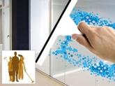 limpieza de cristales  mantenimiento, neteja edifici comunitats propietaris cornella baix llobregat