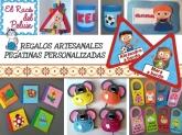 detalles regalos bautizos cornella baix llobregat, juguetes licencia cornella baix llobregat,