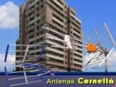 antenas tdt television cornella baix llobregat, Antenas
