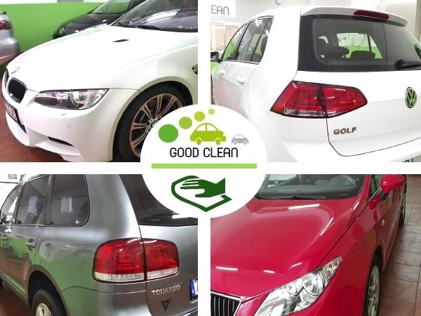 limpieza interior desodorización coche,