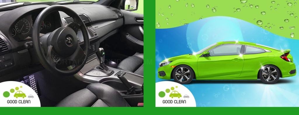 lavado ecológico, limpieza integral alta calidad automóvil,