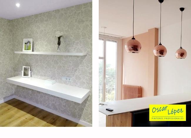 pintamos pisos empapelamos decoración casas hogares Barcelona Baix Llobregat