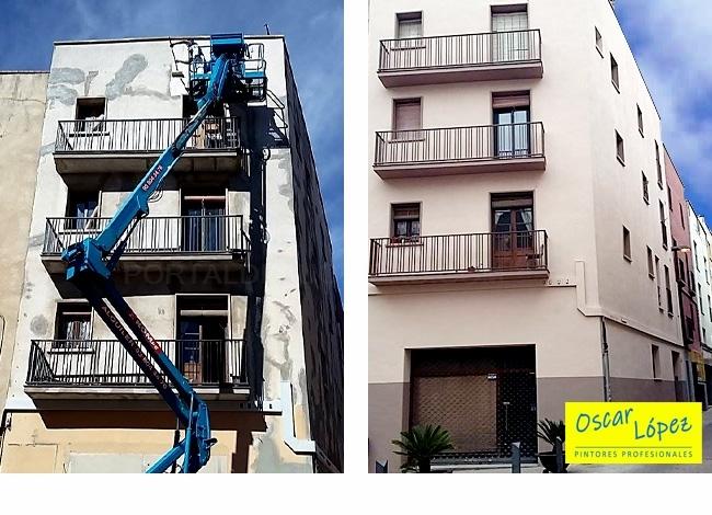 empresa pintores fachadas Barcelona Baix Llobregat