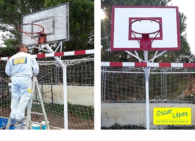 pintura restaurar pavimentos Manresa Igualada