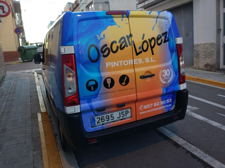 pintor lacar barnizar puertas garajes parquing Barcelona
