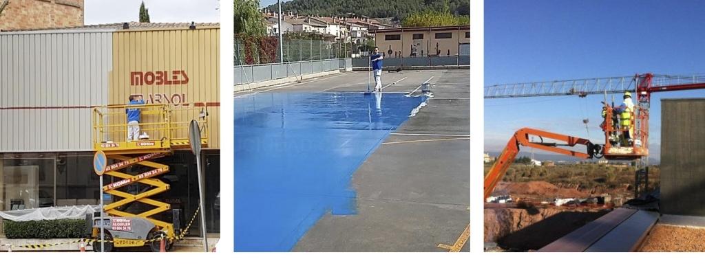 pintura industrial pintura decorativa Baix Llobregat Bages