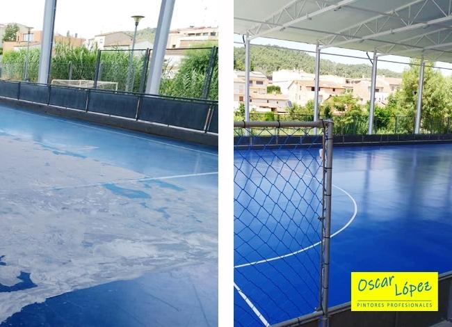 tratamiento superficies pintura Igualada Barcelona
