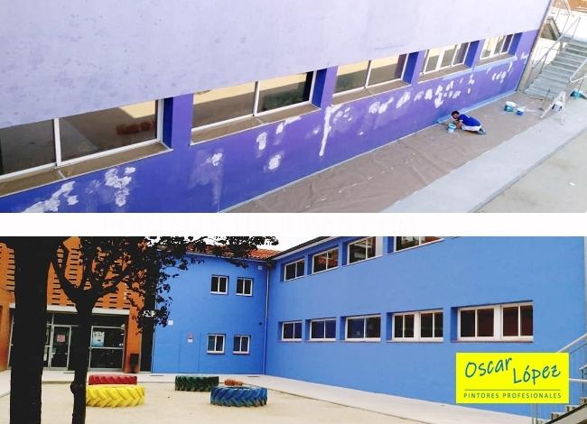 empresa pintores instalaciones municipales colegios polideportivos Barcelona
