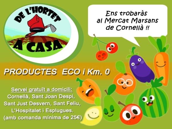 fruteria ecologica cornella, verduras hortalizas ecologicas baix llobregat