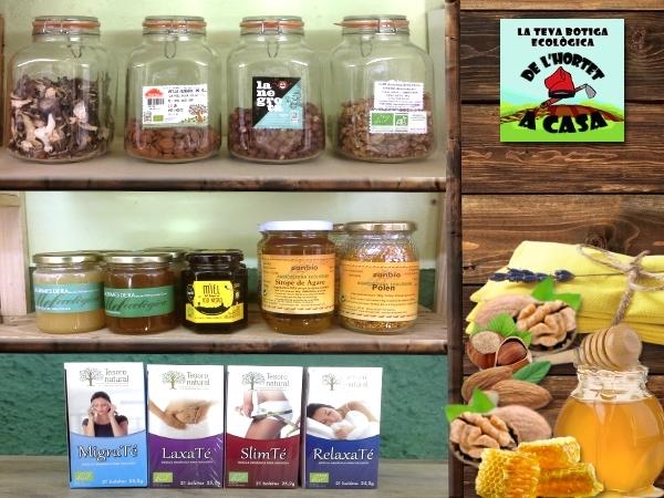 melmelades artesanes baix llobregat, productes bio ecologics cornella barcelona