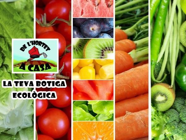 cistelles variades de fruita i verdura 100% ecologic a cornella,