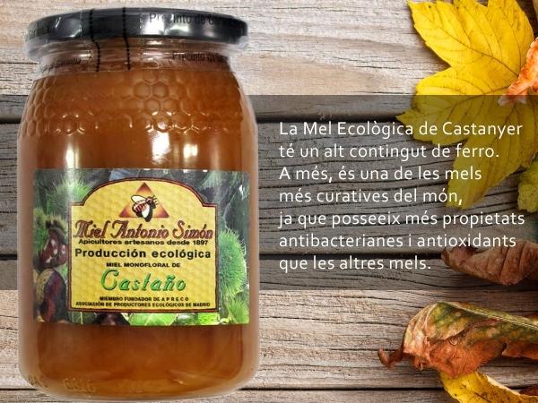 miel de castaño eco,