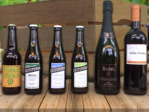 vins, caves i cerveses artesanes,