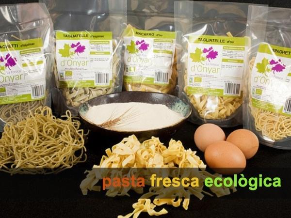 pasta fresca ecologica per a vegans Cornella Baix Llobregat,