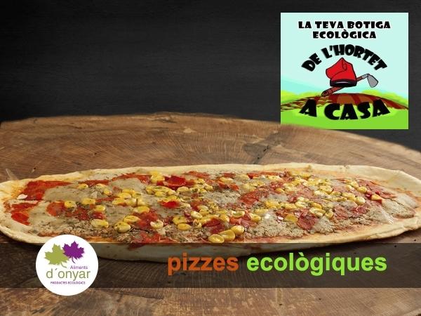 pizzas ingredientes cultivo ecológico,