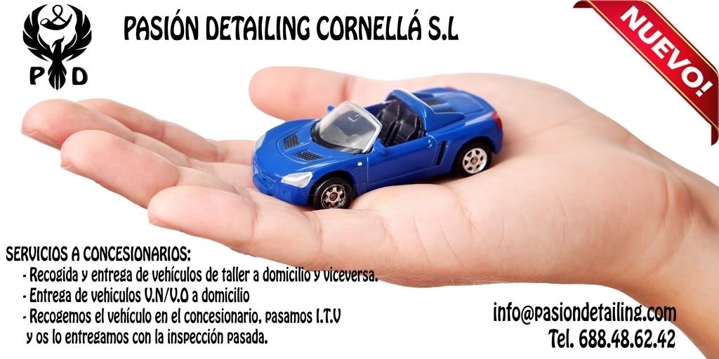 limpieza detallado integral automóvil Barcelona Baix Llobregat