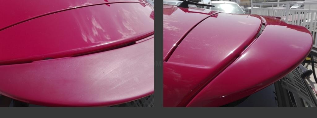 pulido carrocería pintura coche detallado Barcelona Badalona