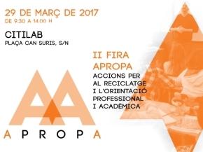 APROPA - II Mostra dels Ensenyaments 2017