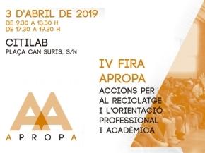 APROPA - IV Mostra dels Ensenyaments 2019