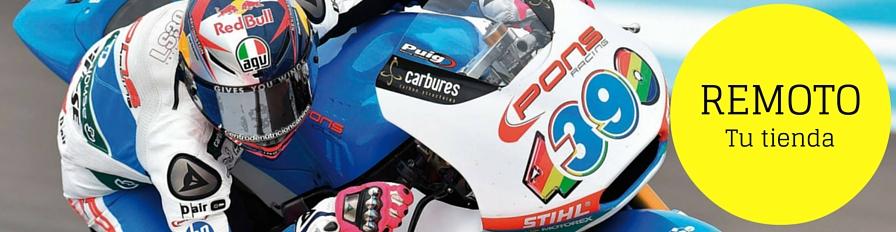 REMOTO. Tienda de ropa y accesorios para moto