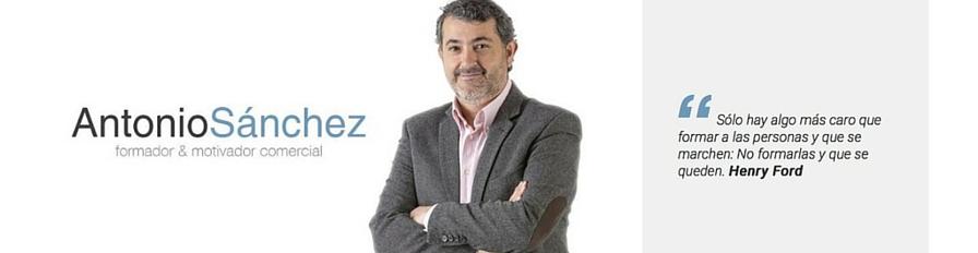 Antonio Sánchez. Formador en Ventas