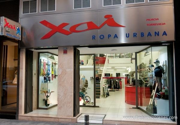 Xai ropa urbana en Murcia