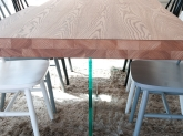 mesa de comedor maciza,  mesa madera maciza murcia