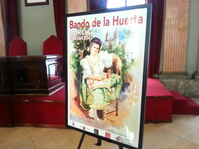 Cartel Bando de la Huerta 2013