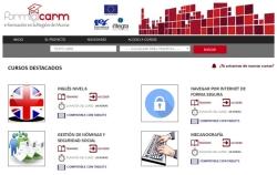 La plataforma de formación online de la Región de Murcia....