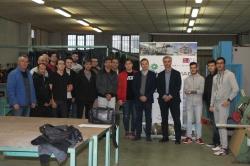 Contratados en Cartagena para la construcción del submarino S81 más de la mitad de los alumnos de un curso del SEF sobre soldadura.