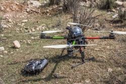 El control de la procesionaria del pi.no incluye por primera vez el uso de drones
