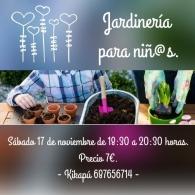 Taller de jardinería para niños
