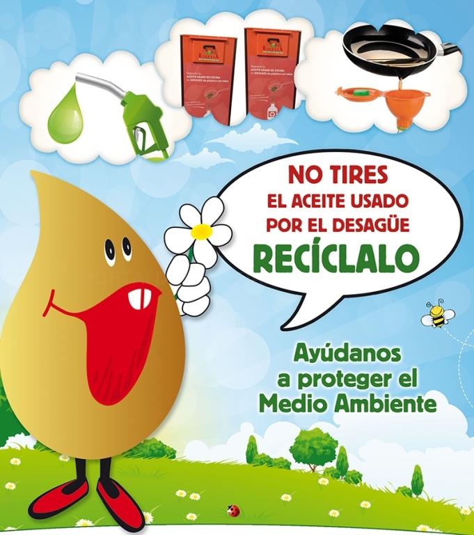 reciclar aceites en andalucía