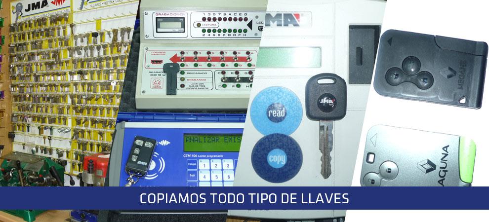 copia, llaves