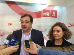 """Vara augura """"una sorpresa"""" del PSOE en las elecciones de 2015"""
