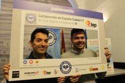 Padelmérida acoge el Campeonato de España cadete por equipos