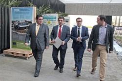 60 representantes de una veintena de diputaciones se han dado cita en Badajoz en un foro de debate sobre la gestión del agua.