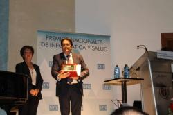 El SES recibe el Premio Nacional de Informática y Salud por su Centro de Salud Online